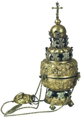 Кадило. 1734 г.