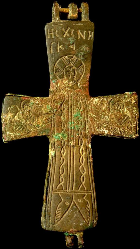 Крест-реликварий. Византия. Константинополь; XI в.