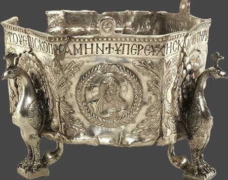 Стационарная кадильница, Византия-Сирия, VI в.